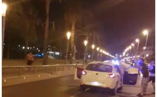 西班牙恐怖袭击枪战视频