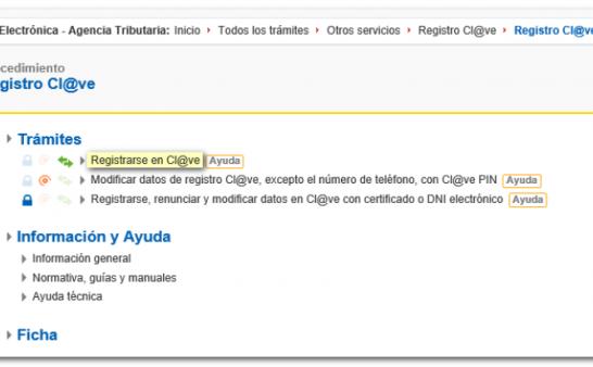 西班牙-如何申请cl@ve (clave) 电子证书 (主管部门的电子身份证)